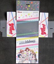 Weiss Schwarz BANG DREAM -  Promo Deck Box - NEW