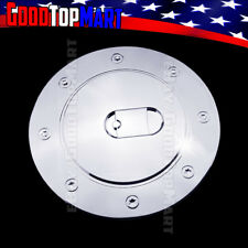 For Chevy SILVERADO 1999-2001 2002 2003 2004 2005 2006 Chrome Gas Cap Door Cover