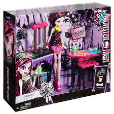 Monster High Bestia picaduras Cafe Con Draculaura jugar Conjunto de Regalo Juguete