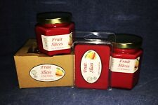 **NEW** Hand Poured Fruity Scents Soy Candles Tarts & Votive - Fruit Slices