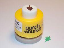 Mini Oak Leaf Punch Bunch 1/4 inch 8mm Scrapbook Paper Punch G18 Dollys Gallery