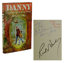 Danny Champion of the World SIGNED by ROALD DAHL Jeremy & Sam Irons ASSOCIATION