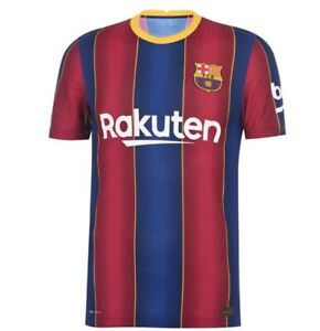 FC Barcelona 15 Set of Soccer Team Uniform 2020-21 Home Kit