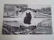 Vintage Postcard EASTBOURNE MULTII-VEW  Franked+Stamped 1964   §A223