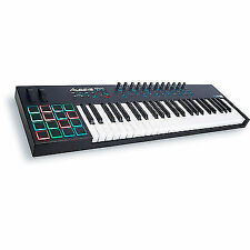 Alesis VI49 Advanced 49 Key USB Midi Keyboard Controller With 16 Pads