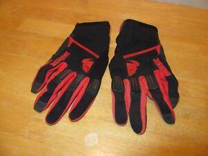 THOR Motocross Dirt Bike Riding Gloves Adult Size 11 XL Black Red