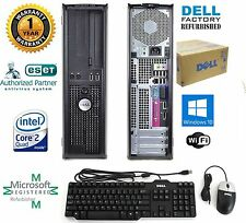 Dell 780 COMPUTER DESKTOP 120gb SSD Intel Core 2 Quad 2.66Ghz 4GB WINDOW 10 pro