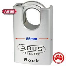 ABUS 83CS55 High Security ROCK Padlock. Excellent Shipping Container Padlocks