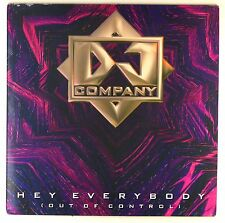 "12"" Maxi - DJ Company - Hey Everybody (Out Of Control) - D278 - washed & cleaned"