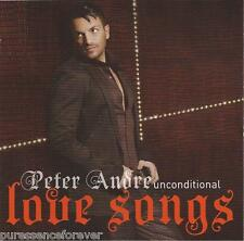 PETER ANDRE - Unconditional: Love Songs (UK 16 Tk CD Album)