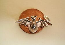 BEAUTIFUL  ' BAT '  STERLING SILVER CHARM CHARMS