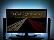 "TV Back Light- Television LED Light Strips in White  60"" inches of LEDs"
