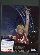 James Kottak Musician Signed 8x10 Photo PSA/DNA COA AUTO Autograph