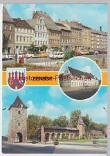 (99525) AK Zerbst, Mehrbildkarte, 1983