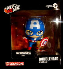 CAPTAIN AMERICA - BOBBLE HEAD / WACKELKOPF / WOBBLER / HEADKNOCKER (Dragon)