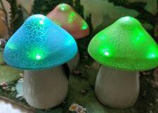 Solar Color Changing Mushrooms Pathway Light Outdoor  EV
