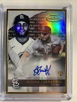 2020 Topps Gold Label Junior Fernandez Autograph RC St. Louis Cardinals #GLA-JFE