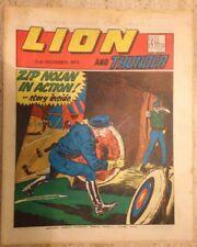 LION AND THUNDER UK COMIC. 2nd December 1972. FREE UK POSTAGE.