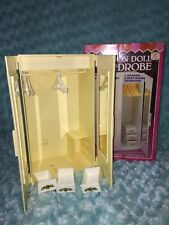 Vintage Toy Miss Merry's WARDROBE IN BOX CHEST for Barbie Candi Starr FROM 1980