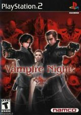 Vampire Night (Sony PlayStation 2, 2001) *COMPLETE*