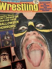 New listing sports review wrestling magazine December 1987