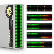 Douk Audio 56 Bit Level Meter Led Music Spectrum Micline Stereo Sound Indicator