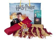 Gryffindor Fan Gift set  - Scarf, Snap, Socks,& Patch in Harry Potter bag