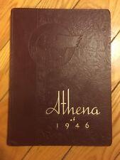 1946 Ohio University Yearbook - The Athena - Athens, OH -