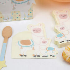 New Listing16 x Llama Love Shaped Party Napkins Birthday Baby Shower 1st Bday All Occasions