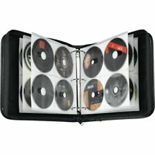Case Logic Nylon CD/DVD Binder, 208 Capacity, black