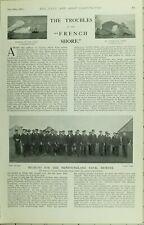 1902 PRINT ~ RECRUITS NEWFOUNDLAND NAVAL RESERVE ICE ICEBERG QUIDDY VIDI HARBOUR