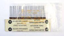 10 pcs 1,5K 1/4W JAN Allen Bradley Resistor 5% 1500 ohm TESTED RCR07G1152JS