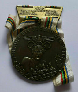 Berlin 1936 Games of the XI Olympiad medal, Ich rufe die Jugend der Welt