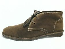Chukka Boots ASTON GREY Brown Suede Distressed Shoes SAHARA Mens US 10 / 43 $205