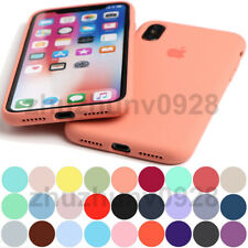 ORIGINAL SILICONE FULL PROTECT CASE FOR IPHONE SE 2020 11 PRO MAX XR XS 8 7 PLUS