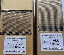 Alu Insektenschutzgitter Insektenband 100mm Lüftungsprofil Vogelschutzgitter