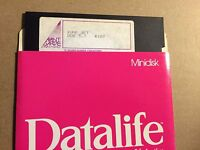 "Vintage Jump Jet Dos 3.3 Avant-Garde Creations 5 1/4"" Floppy Disk Apple II 5.25"