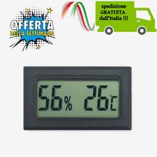 Termometro Igrometro  Digitale  Con Display Lcd  umidita e temperatura