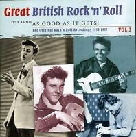 GREAT BRITISH ROCK'N'ROLL 2 - JUST ABOUT 2 CD NEU  TERRY WAYNE/RICK JAMES/+