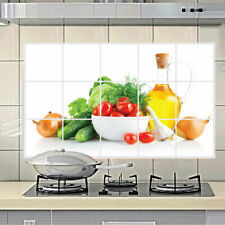 Oilproof Removable Kitchen Mural Vinyl Wall Stickers Decor DIY. Decal D4T6