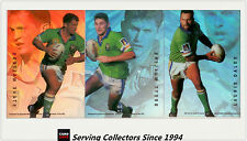 1996 Dynamic Rugby League Signature Gold ACETATE CARD TEAM SET-- Canberra (3)