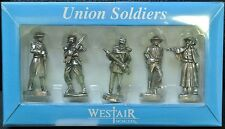 WESTAIR - UNION SOLDIERS - Set of 5 Civil War Union Soldiers - Nice Details NIB