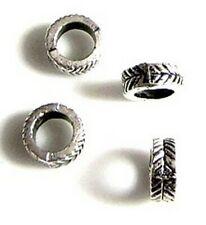 10 Intercalaires spacer _ RONDS 7x7x3mm _ Perles apprêts création bijoux _ A269