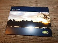 2004 LAND ROVER RANGE ROVER DISCOVERY INTRO PRESS KIT