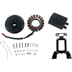 Drag 54A High Output Charging System Kit w/ Voltage Regulator Rotor Stator 11-16