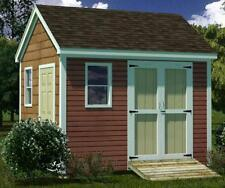 10x12 Shed Plans- How To Build Guide - Step By Step - Garden / Utility / Storage