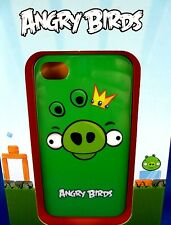 NEW & SEALED Gear4 iPhone Cover 4 ANGRY BIRDS GREEN PIG KING Collectable -In Aus
