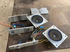 Vintage Sansui SP-Z7 4 Way Speakers Pair PARTS