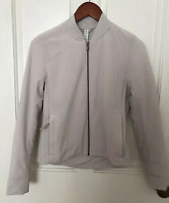 Lululemon grey cropped jacket, Size 2