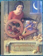RUMPELSTILTSKIN Paul Zelinsky 1st Edition 1st Printing HC/DJ 1986